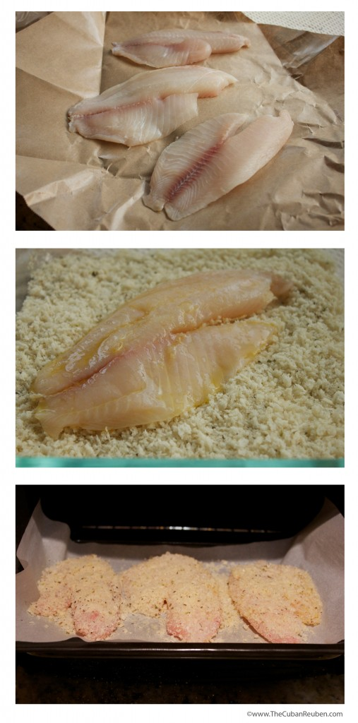 preparing tilapia