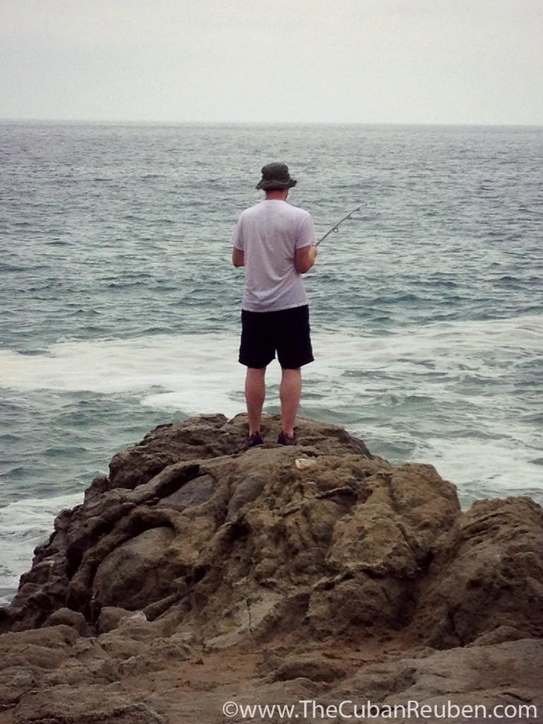 Kenny and the sea. TheCubanReuben.com