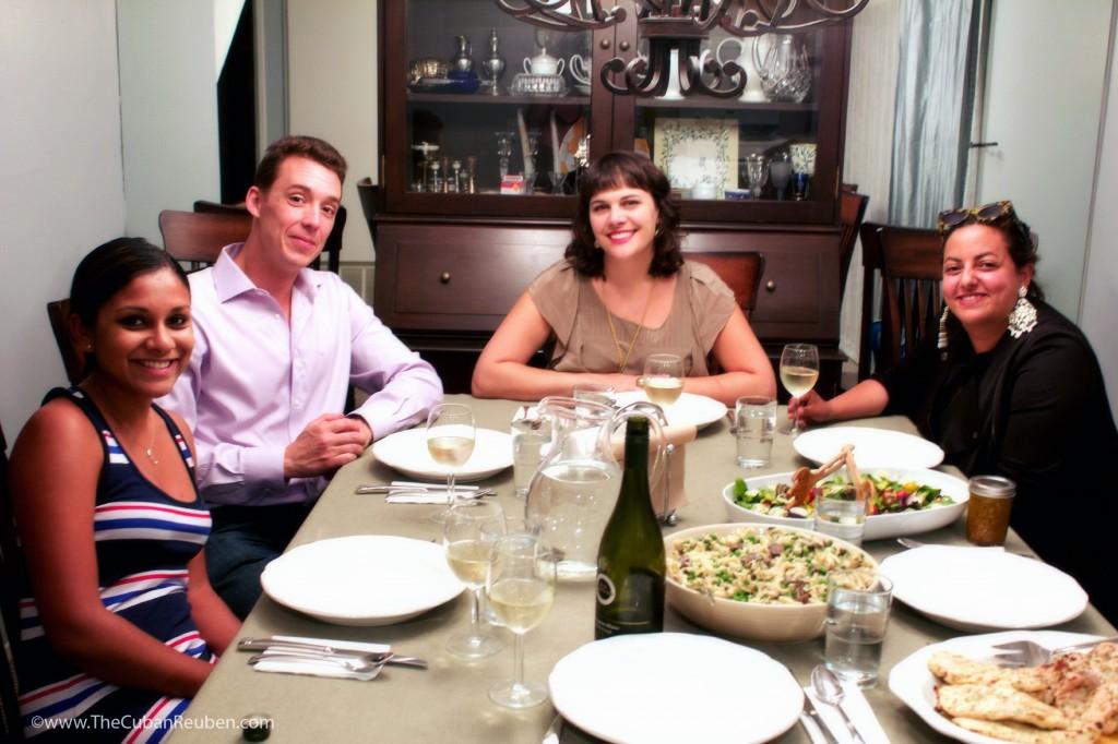 Dinnerpartyguests.TheCubanReuben.com
