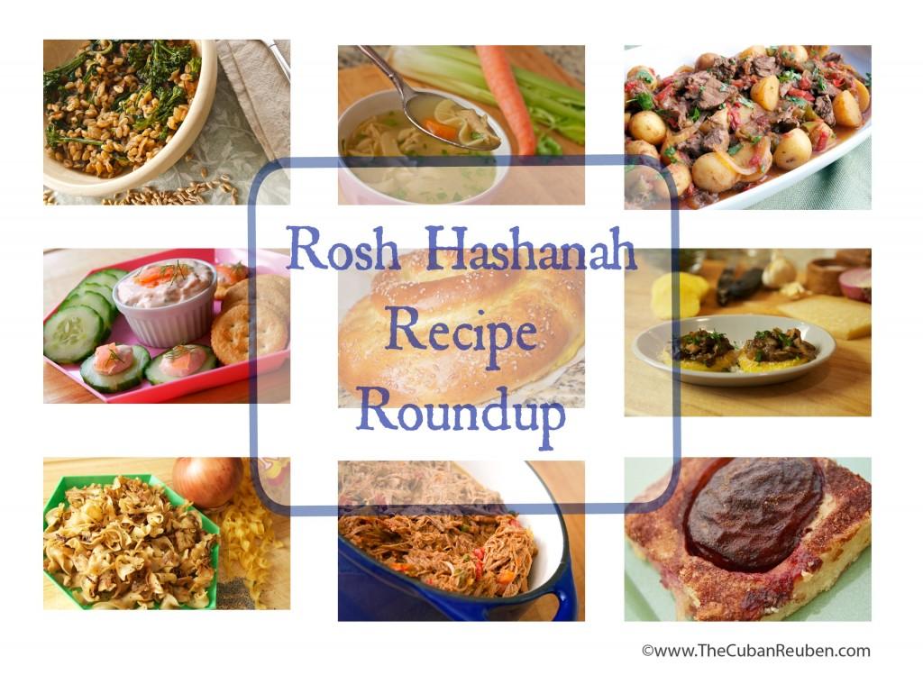Rosh Hashanah Recipe Roundup.TheCubanReuben.com