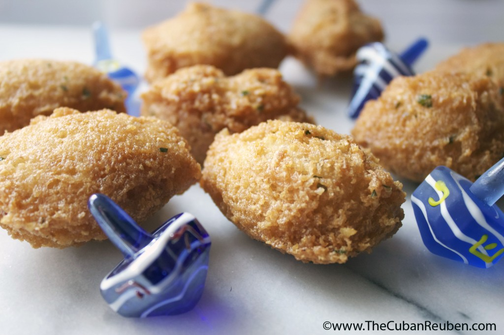 Malanga Fritters.TheCubanReuben.com
