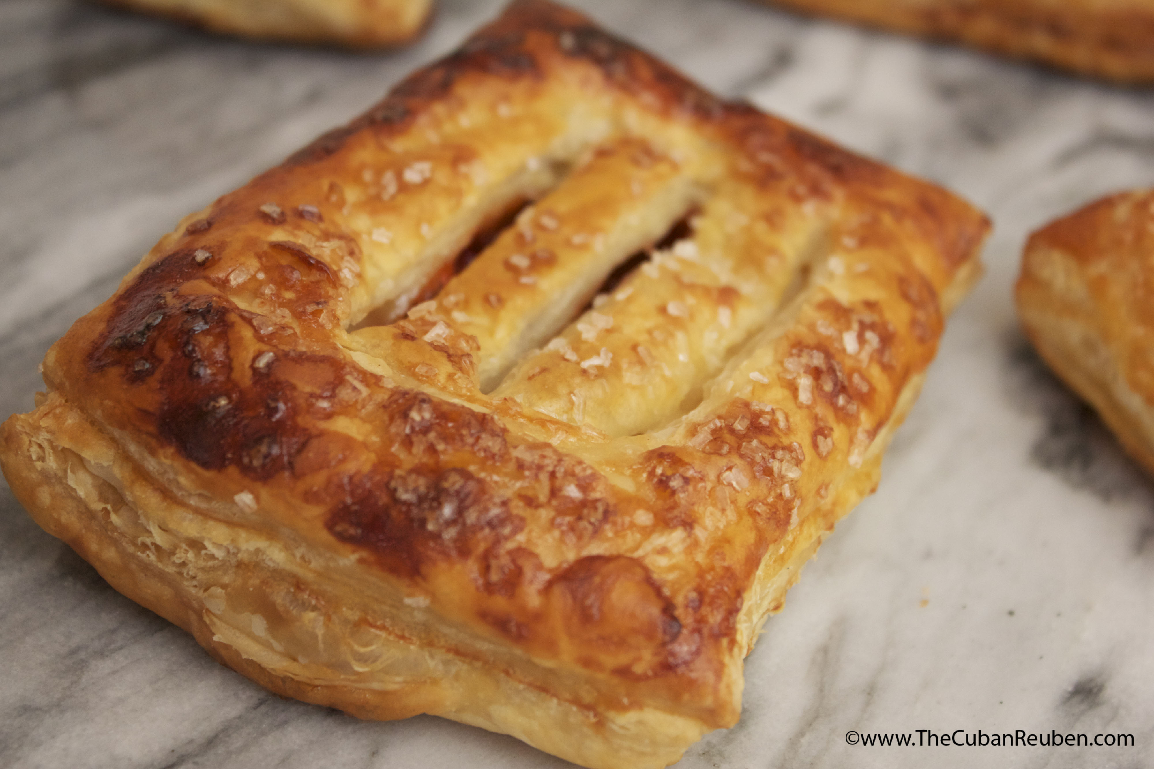 True Culinary Adventure: Guava and Cheese Pastry | The Cuban Reuben